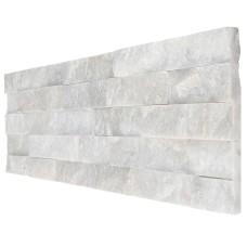 okładzina kamienna GP5 kwarc śnieżno-biały