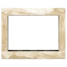 rama portalowa kominkowa 10 cm - 660 x 522 mm - marmur Breccia Sarda