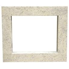 rama portalowa kominkowa 10 cm - 610 x 502 mm - granit Kashmir White