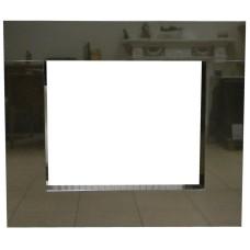 rama portalowa kominkowa 10 cm - 610 x 502 mm - granit Nero Assoluto połysk